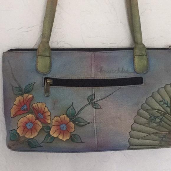 Anuschka bags leather hand painted purse pre owned poshmark jpg 580x580 Poshmark  leather hand wallet handpainted ee0da7b04b